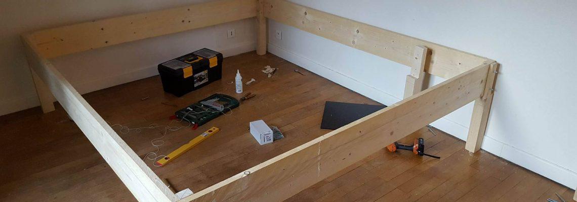 Step 1 - Build the frame...