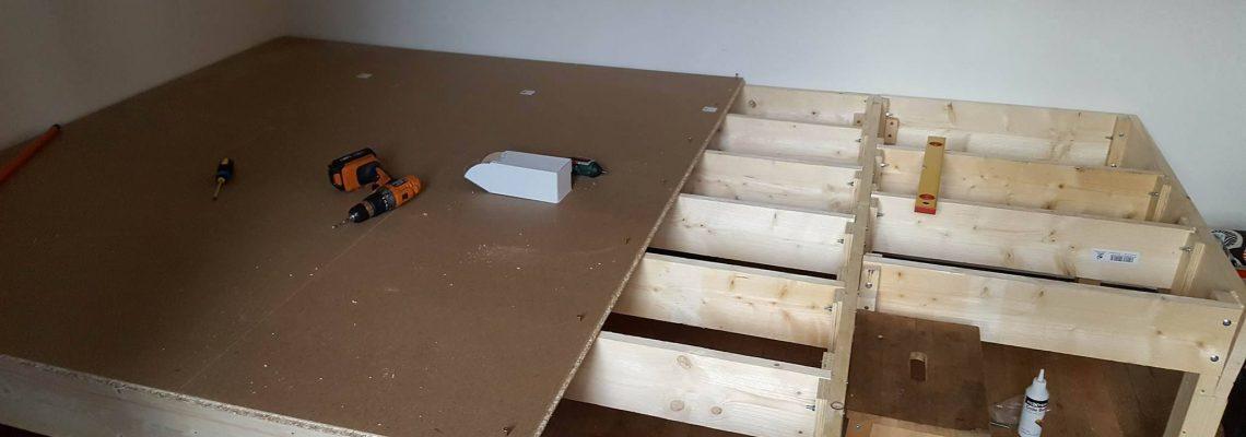 Step 3 - Floor boards